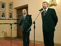Милинкевич и премьер-министр Польши открывают программу имени Кастуся Калиновского
